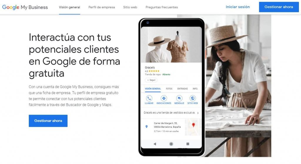 Google My Business, tu empresa gratis en internet