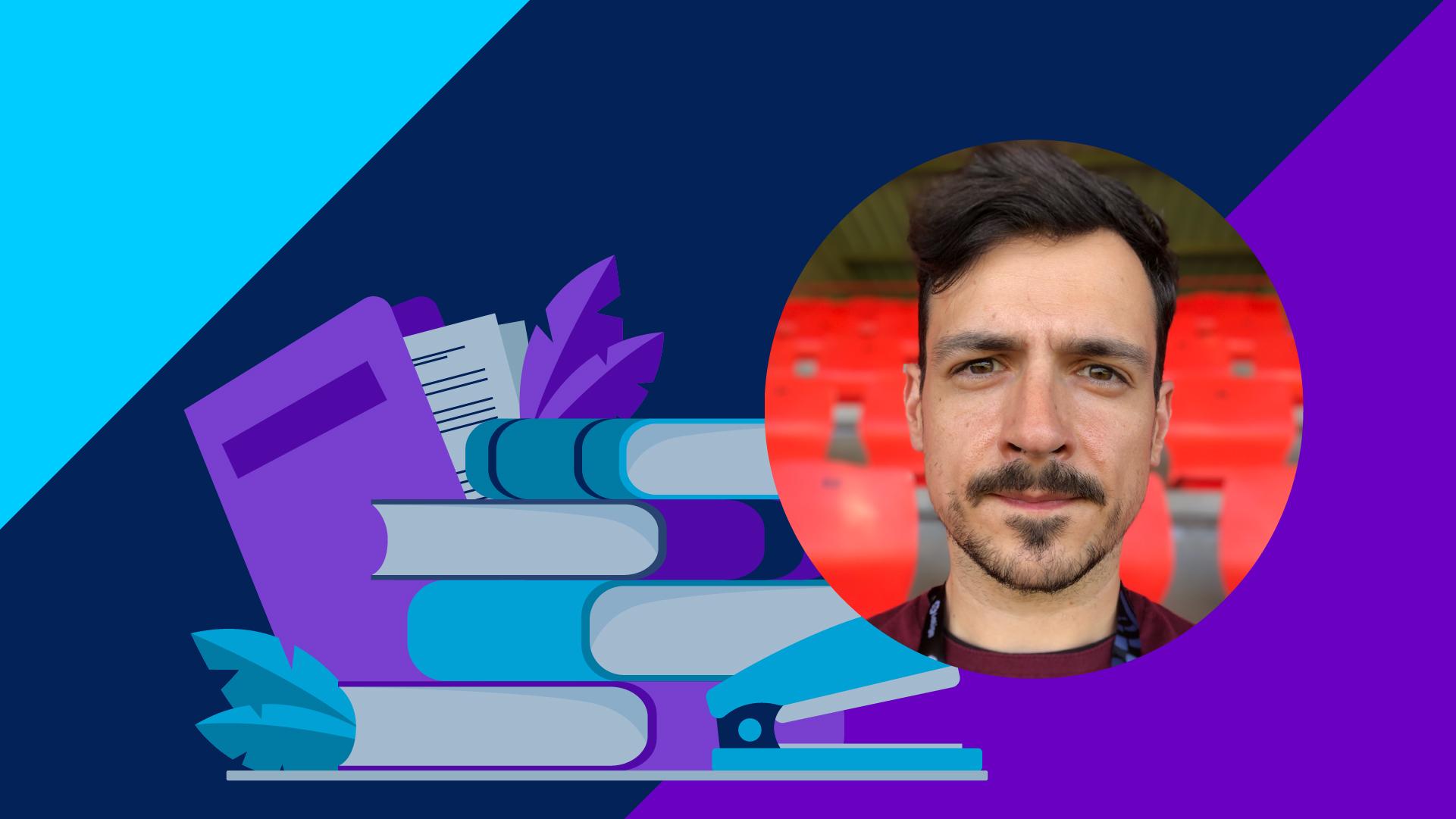 Borja García, alumno en Edix
