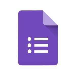 Examenes online: Google sheets