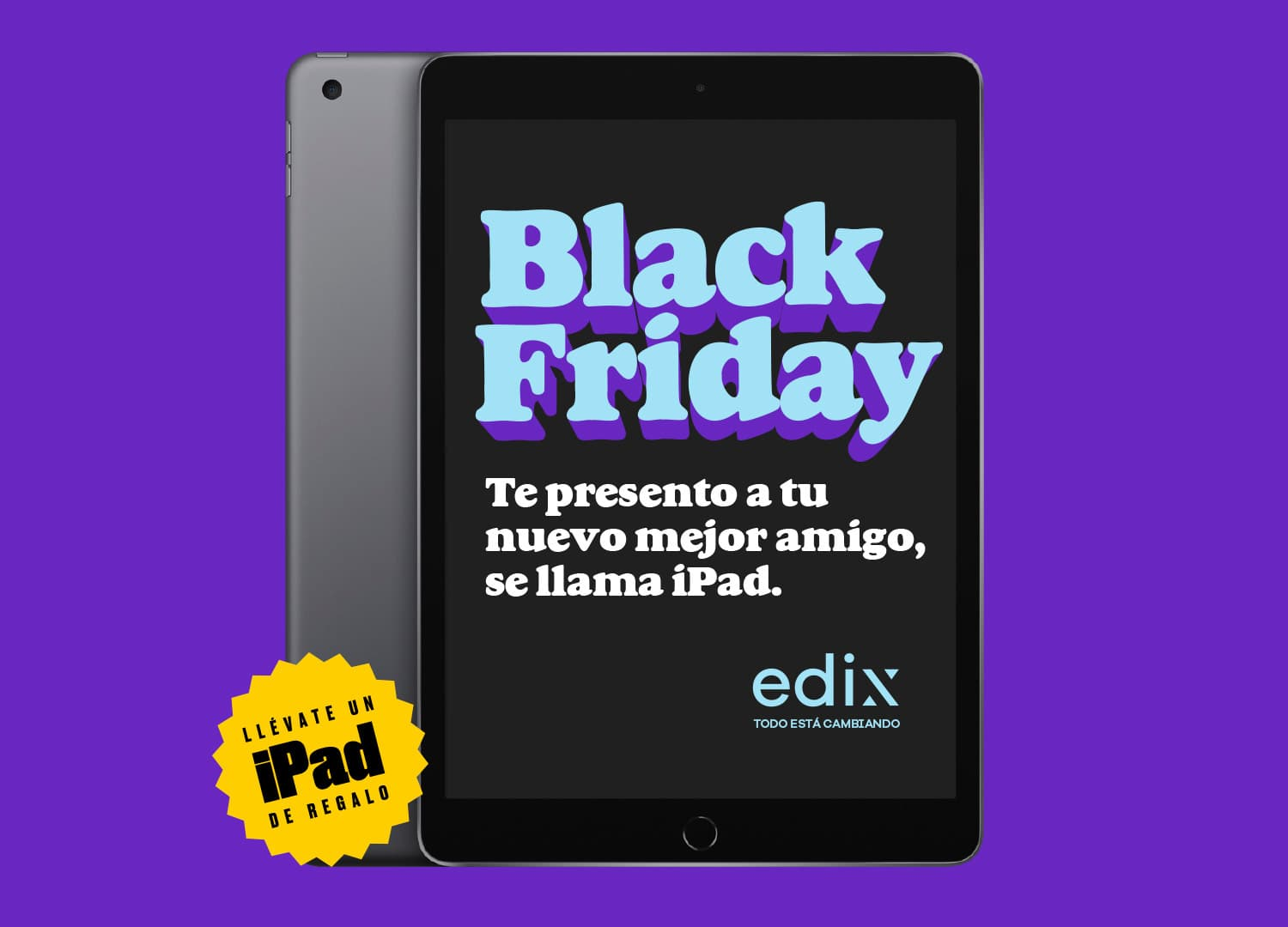 Black Friday - Gana un iPad